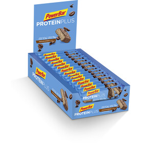 PowerBar ProteinPlus Bar Box 30x35g, Chocolate Espresso